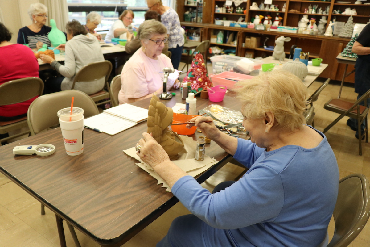 Quincy Point Homes features a large senior center on property, known as 1000 Southern Artery.